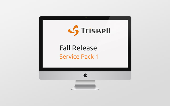 Triskell Service Pack 1 Fall Release 2015